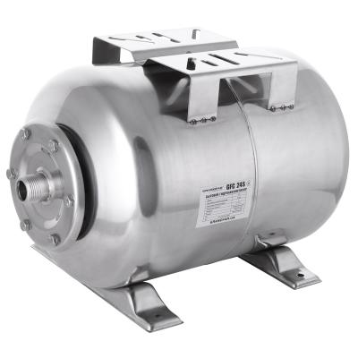 Гидроаккумулятор для насосных станций горизонтальный GRANDFAR 24 л (GF1157)