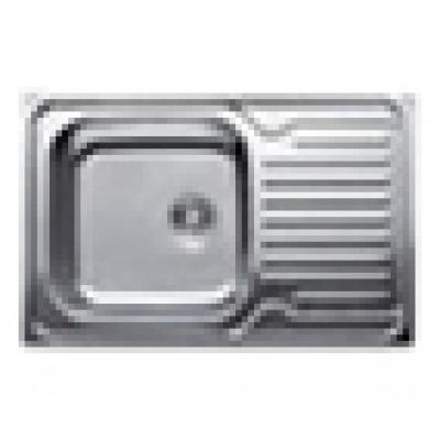 Кухонная мойка врезная HAIBA 78x50 (satin) (HB0647)