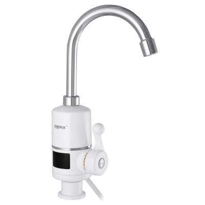 Проточный водонагреватель ZERIX ELW06-E (с индикатором температуры) (ZX3074)