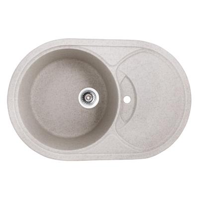 Кухонная мойка гранитная врезная HAIBA HB8310-G322 BEIGE 780x500x220 (HB0978)