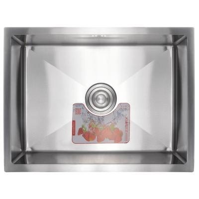 Кухонная мойка из нержавеющей стали SUS304 ZERIX ZUS6045(1)-HM (ZM0570)