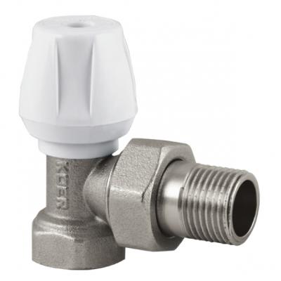 Вентиль радиаторный угловой KOER KR.905 1/2x1/2 (KR2846)