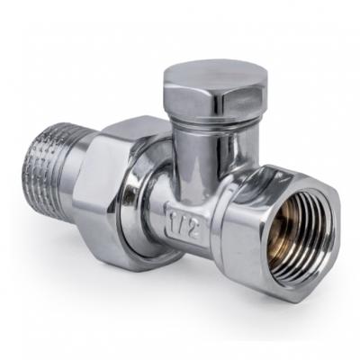 Вентиль радиаторный KOER KR.904.CHR 1/2x1/2 (хромированный) (KR2824)