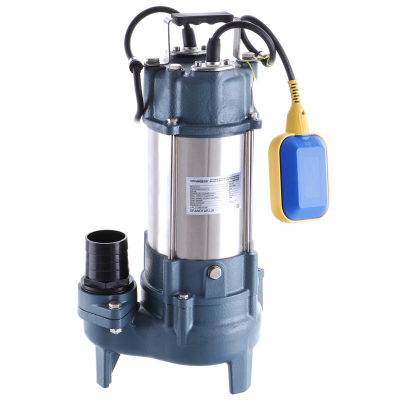Канализационный насос для грязной воды (с поплавк. выкл.) GRANDFAR GV450F 450Вт (GF1095)