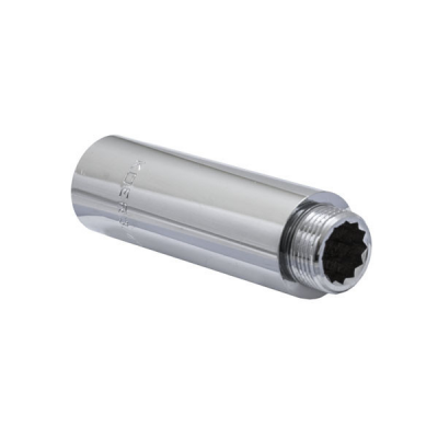 Удлинитель латунный KOER 3/4 - 100мм (хром)