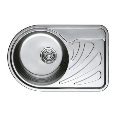 Кухонная мойка врезная HAIBA 67x44 (polish) (HB0558)