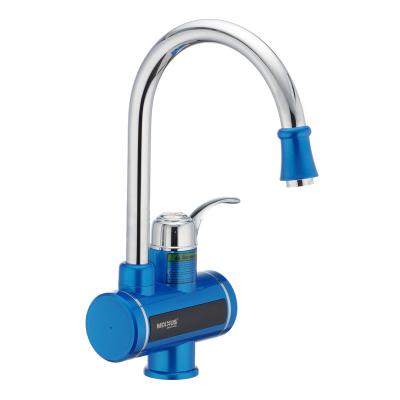Проточный водонагреватель MIXXUS Electra 240-E Blue (с индикатором температуры) (MI2747)