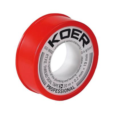 ФУМ лента для воды KOER STP-01 PRO 20M*0.2mm*19mm (KR0121)