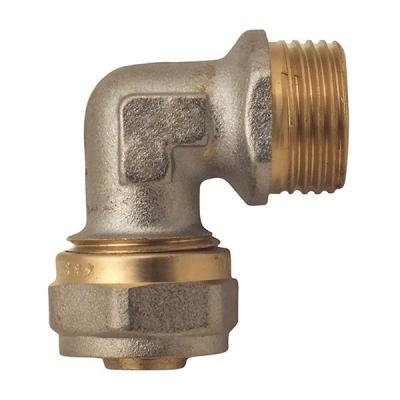 Угол обжимной для металлопластиковой трубы MASTER 16x3/4M (MA0089)