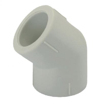Угол полипропиленовый для PPR трубы KOER 45 75 K0201.PRO (KP2566)