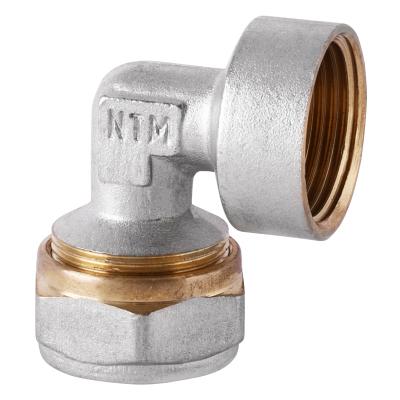 Угол обжимной для металлопластиковой трубы MASTER 26x1/2F (MA0113)