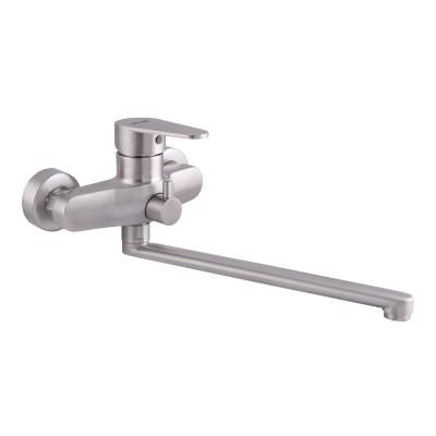 Смеситель для ванны из нержавеющей стали SUS304 MIXXUS FAT-006 (SS2828)