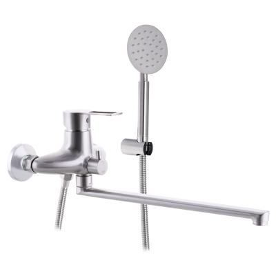 Смеситель для ванны из нержавеющей стали SUS304 ZERIX HSB-006 (EURO) (ZX3160)