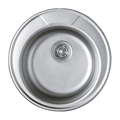 Кухонная мойка врезная HAIBA 490 (polish) (HB0533)