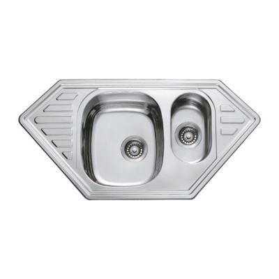 Кухонная мойка врезная HAIBA 100x50 (satin) (HB0524)