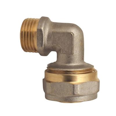 Угол обжимной для металлопластиковой трубы MASTER 26x1/2M (MA0111)
