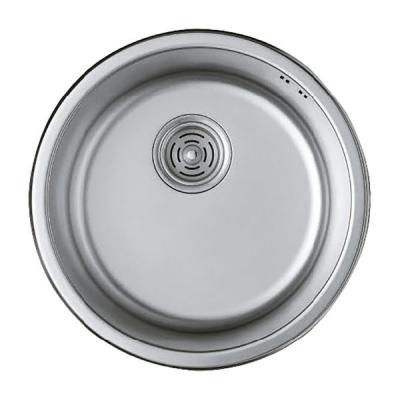 Кухонная мойка врезная HAIBA 440 (satin) (HB0527)