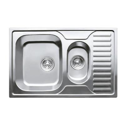 Кухонная мойка врезная HAIBA 78x50 ARMONIA (decor) (HB0651)