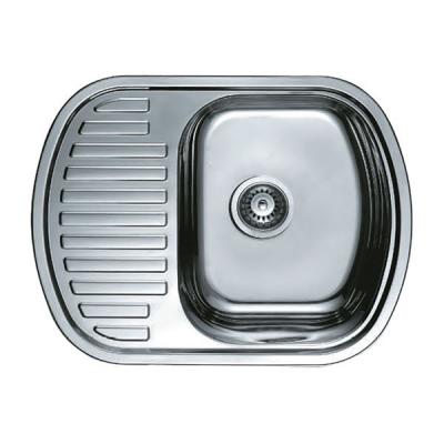 Кухонная мойка врезная HAIBA 63x49 (decor) (HB0653)