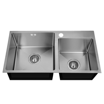 Кухонная мойка врезная MIXXUS MX7843-220x1.0-SATIN (MX0564)